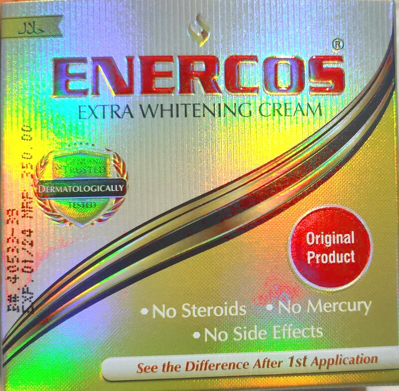 Enercos Extra Whitening Cream Original