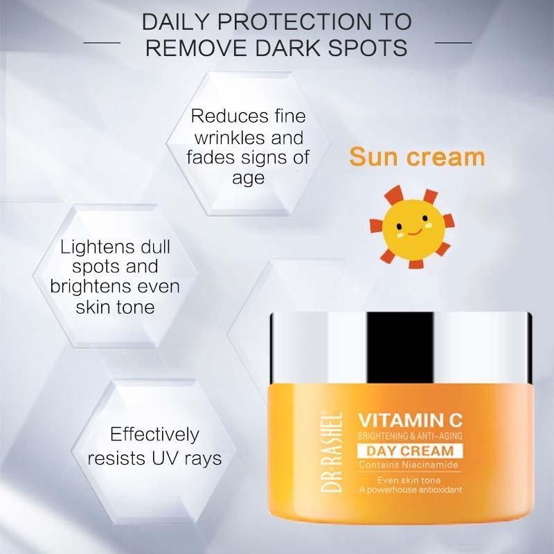 Dr Rashel Vitamin C Brightening & Anti Aging Day Cream DRL-1509 50G