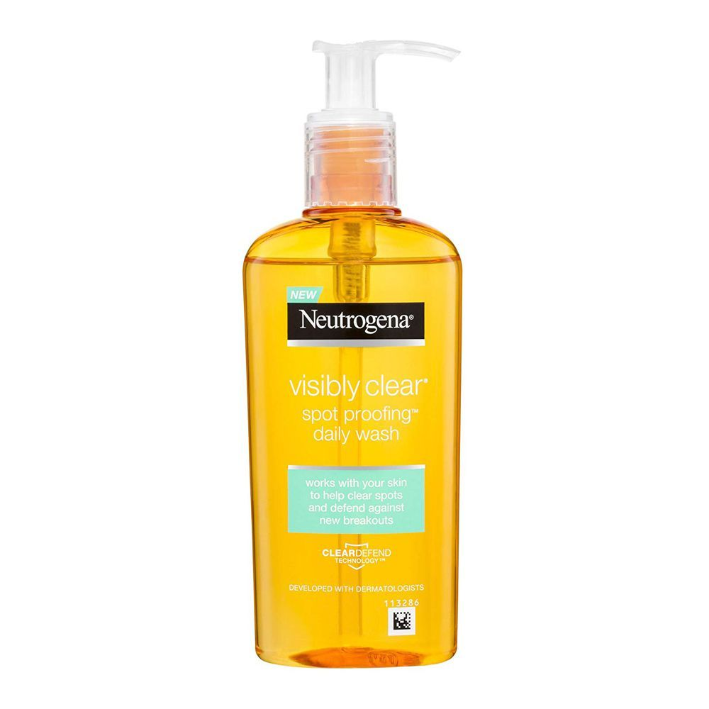 Neutrogena Visibly Clear Oil Free Clear & Protect Daily Wash 200Ml