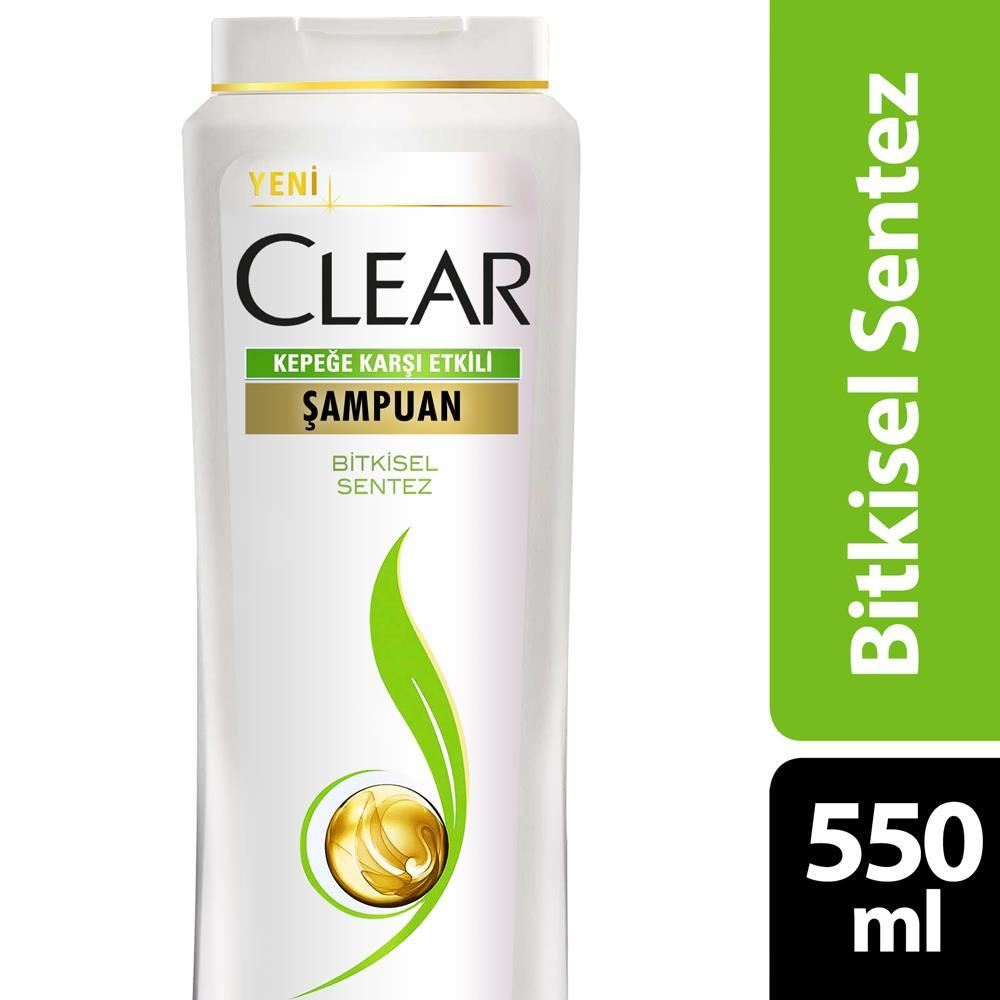 Clear Anti Dandruff Shampoo Herbal Synthesis 550 ml