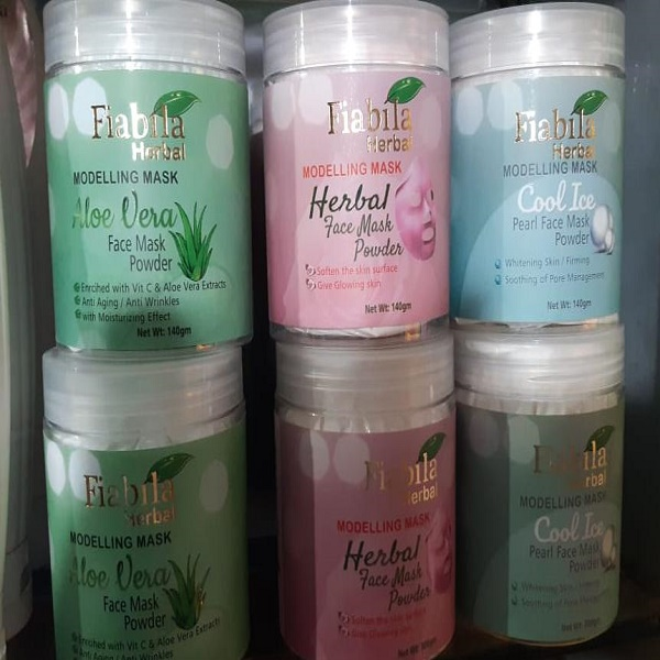 Fiabila Herbal Modeling Mask (Pack of Six)
