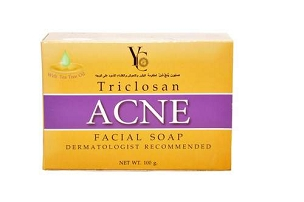 Yc Acne Soap Bar Triclosan Acne Facial Soap 100ml