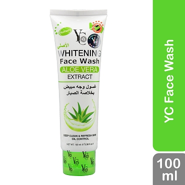 Yc Whitening Face Wash Aloe Vera Extract 100ml