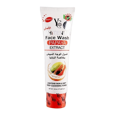 Yc Whitening Face Wash Papaya Extract 100ml