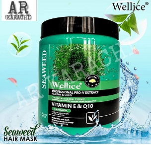 Wellice Seaweed Vitamin E & Q10 Hair Mask 1000ml