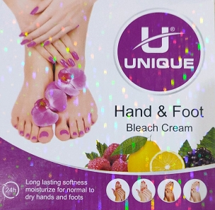 Unique Hand & Foot Bleach Cream