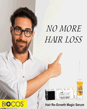 Biocos Hair Growth No More Hair Loss & Repair Serum Essential Oil Hair Growth Hair Loss Treatment Hair Growth Serum for Men and Women