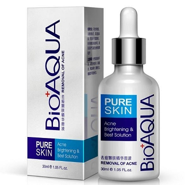 BioAqua Pure Skin Anti Acne Serum Facial Removal Solution