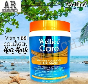 Wellice Vitamin B5 Plus Collagen Hair Mask 1000ml