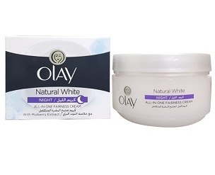 Olay Natural White Night Cream 50 Gm