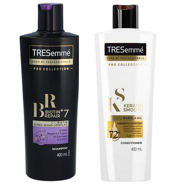 Tresemme Repair 7 Shampoo & Keratin Conditioner 400ml (UK)