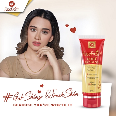 Face Fresh Gold Plus Beauty Face Wash 60ml