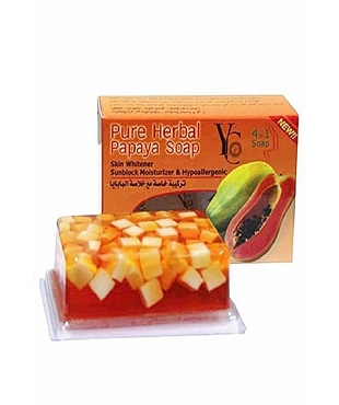 Yc Papaya Soap 100Gm (Thailand)