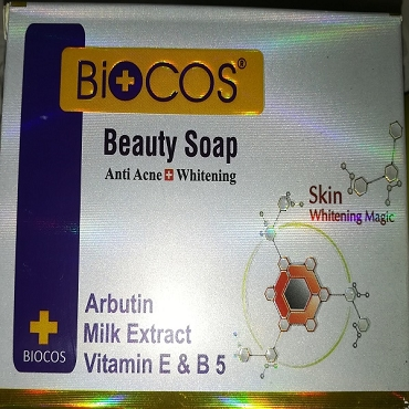 Biocos Beauty Soap Anti Acne + Whitening 120 Gram