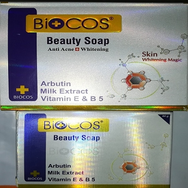 Biocos Anti Acne Whitening & Beauty Soap (Pack of Two)