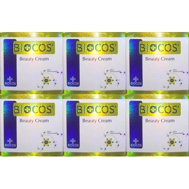 Biocos Emergency whitening cream Original (Pack of Six)