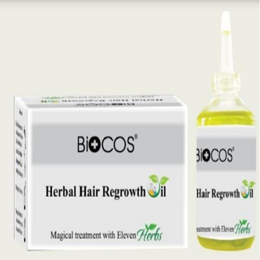 Biocos Herbal Hair Regrowth Oil Branded Original Product