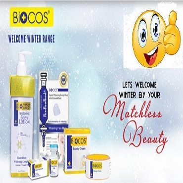 Biocos Whitening Cream,Serum,Body Lotion & Face Mask