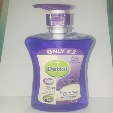 Dettol Foaming Lavender Hand wash 600ml