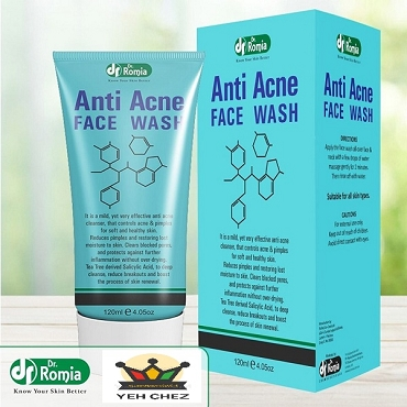 Dr Romia Anti Acne Face Wash Tube 120ml