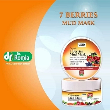 Dr Romia Organic 7 Berries Mud Mask