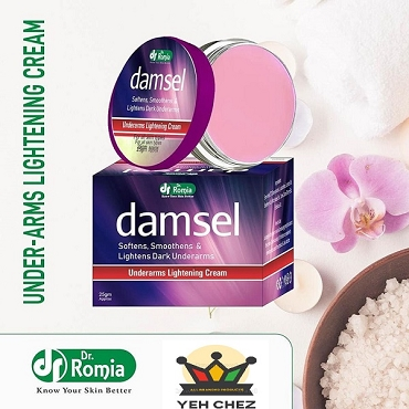 Dr Romia Damsel Cream (Under Arms Lightening Cream)