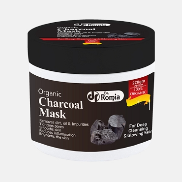 Dr Romia Organic Charcoal Mask 220 Gm