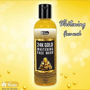 Dr Romia Gold Whitening Face Wash 24k 100ml