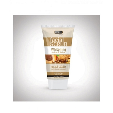 Hemani Facial Scrub Whitening Apricot & Walnut 150ml