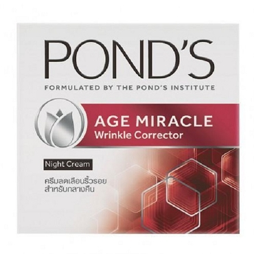 Ponds Age Miracle Wrinkle Corrector Night Cream 50 gm