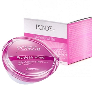 Ponds Flawless White Day Cream SPF 18 PA++ 50Gm
