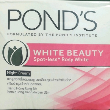 Ponds White Beauty Spotless Rosy Whitening Night Cream 50 grams
