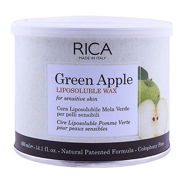 Rica Green Apple Sensitive Skin Liposoluble Wax 400ml