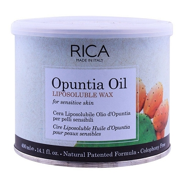 Rica Opuntia Oil Sensitive Skin Liposoluble Wax 400ml