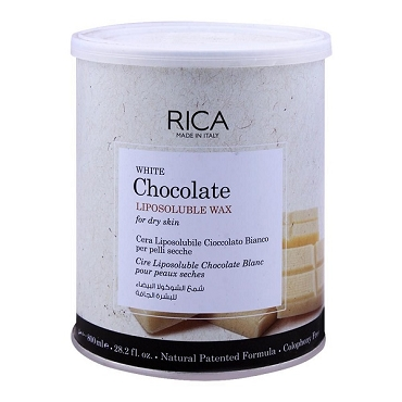 Rica White Chocolate Liposoluble Wax For Dry Skin 800ml