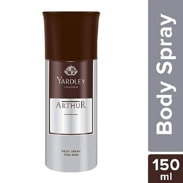 Yardley London Arthur Body Spray 150Ml