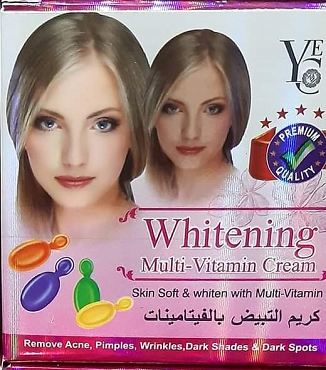 YEC Whitening Multi Vitamin Cream Formulated From Thailand