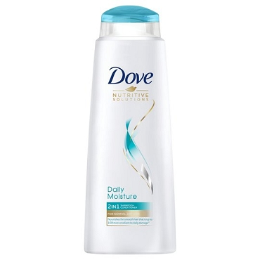 Dove Daily Moisture 2 In 1 Shampoo & Conditioner 400Ml