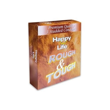 Happy Life Rough & Tough Condom