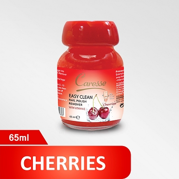 Caresse Easy Clean Nail Polish Remover Cherries 65ml