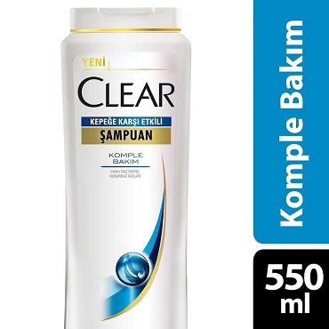 Clear Anti Dandruff Complete Treatment Shampoo 550 ml