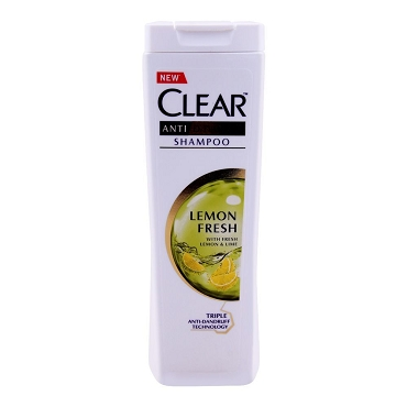 Clear Anti Dandruff Shampoo Lemon Fresh 400ml
