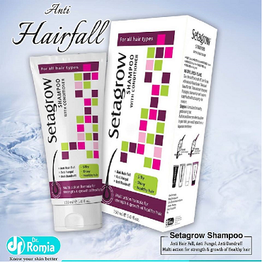 Dr Romia Setagrow shampoo with conditioner