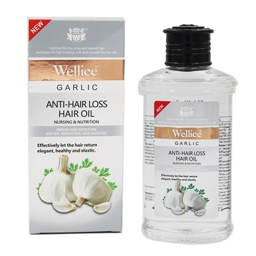 Wellice Garlic Anti Hair Loss Shampoo 400ml