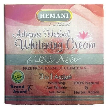 Hemani Advance Herbal Whitening Cream (Live Natural)