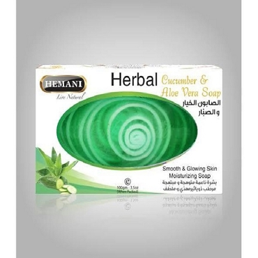 Hemani Herbal Cocumber & Aloe Vera Soap