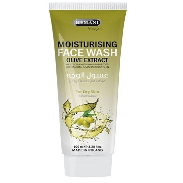 Hemani Moisturising Face Wash Olive Extract 100ml