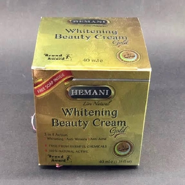 Hemani Whitening Beauty Cream Gold 40ml