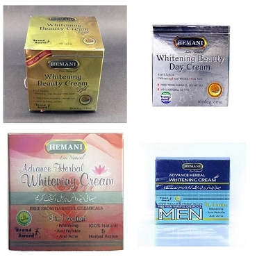 Hemani Whitening Creams (Pack of Four)