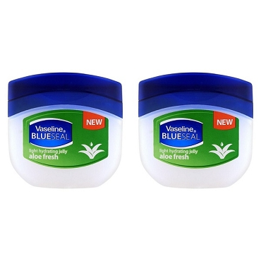 Vaseline BlueSeal Petroleum Light Hydrating Jelly (250ml) with Aloe Fresh (Pack of 2)